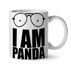 Panda Saying Funny NEW White Tea Coffee Mug 11 oz   Wellcoda