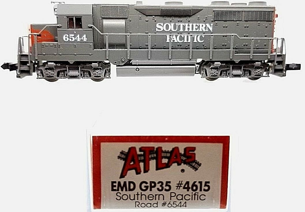 N Atlas 4615 EMD GP-35 Ph.1A Southern Pacific Locomotora (probados)