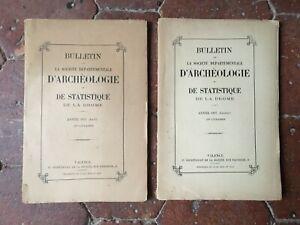 Notiziario Societè Dipartimentale Archeologia Della Drome Valencia 1897