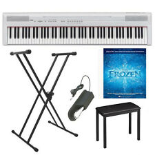 Yamaha P Series P105B 88 Keys Digital Piano with Stand, Bench, Pedal and Book