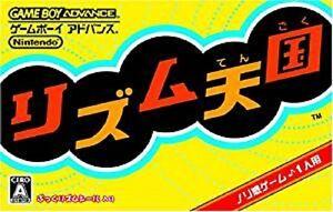 Nintendo-Game-Boy-Advance-RHYTHM-TENGOKU-Heaven-Import-JAPAN-Video-Game