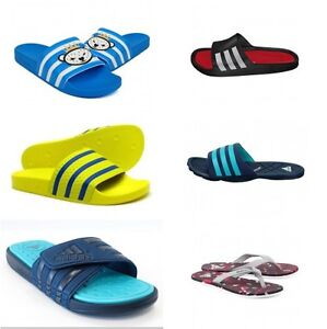 373fa6d544688 Image is loading Adidas-Sandals-Adilette-Adissage-Adipure-Flip-Flops-Uk-
