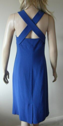 Prom Lk Ladies Sz Dress Royal incrociate Blue Cinghie Party Bennett Designer 18 1xqrY17w