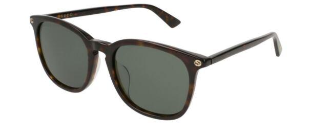 96e849bad11 Gucci Sensual Romantic GG 0154sa Sunglasses 002 Havana 100 Authentic ...