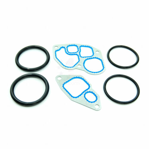 New Oil Cooler O-Ring /& Gasket Kit For Ford E-350 E-450 E-550 F-250 F-350 7.3L