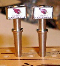 2 Arizona Cardinals, USA, Quality Metal Cribbage Board Pegs, FREE Velvet Pouch b