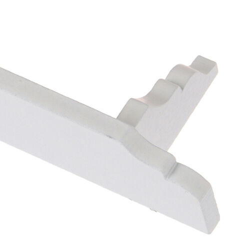 1:12 Dollhouse Miniature White Wall Shelf Rack Model Toys Furniture Accessor JQ