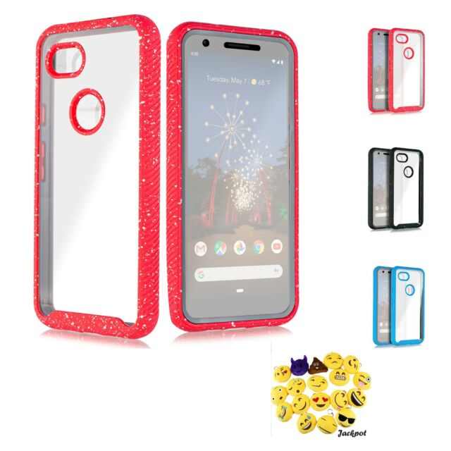 low priced aea3f 1f368 Google Pixel 3A XL Clear Full Body Heavy Duty Protective Case Built in  Screen