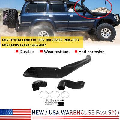 For Land Cruiser 100-Series 1998-2007 Lexus LX470 Black Air Snorkel System