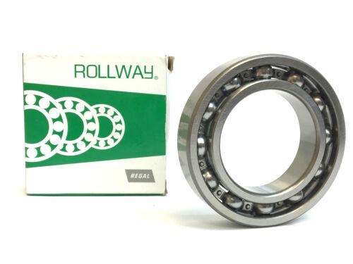 Rollway 6009 Singe Row Deep Groove Radial Ball Bearing 45mm Bore Diameter