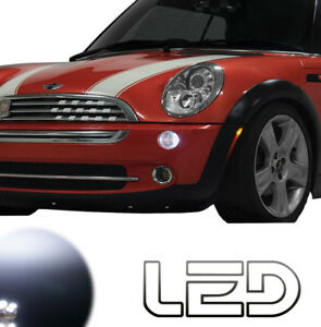 MINI-R50-R53-Cooper-S-One-Works-Pack-2-Ampoules-LED-Blanc-anti-erreur-Veilleuses