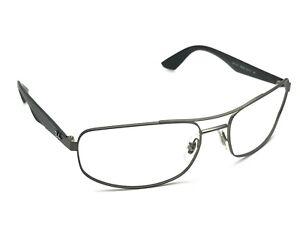 f328e46fd8 Ray-Ban RB 3527 029 9A Gunmetal Black Rectangular Sunglasses Frame ...