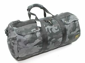 Image Is Loading Polo Ralph Lauren Camouflage Camo Printed Military Duffel