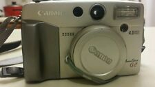 Canon PowerShot G2 4.0 MP Digital Camera - Metallic silver