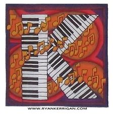 """phish alPHabet MAGNETS 2""""x2"""" letter K for keyboard army  ( by KERRIGAN )"""
