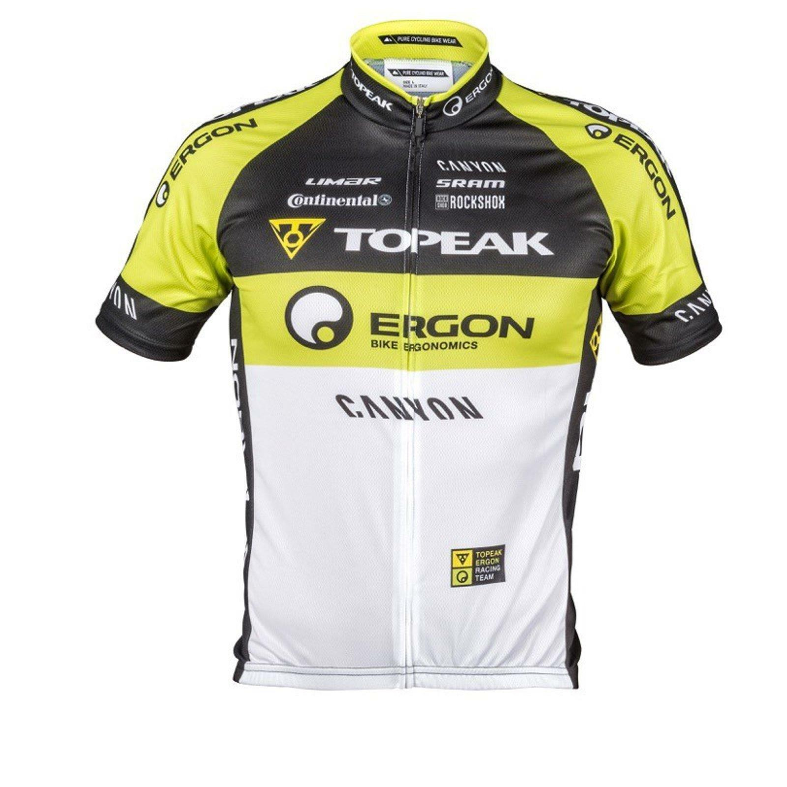 Topeak Ergon Replica Jersey Team Jersey 2014  Bicycle Cycling Breathable Short  best reputation