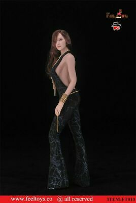 """Feeltoys 1//6 Female Girl Disco Jumpsuit Clothing Model FT010D For 12/"""" Figure Toy"""
