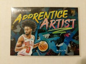 2019-20-Panini-Court-Kings-Coby-White-Apprentice-Artist-Rookie-Card-21