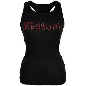 Halloween-Horror-Redrum-Black-Juniors-Soft-Tank-Top