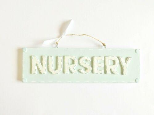 Nursery Door Sign Baby/'s Bedroom Wall Plaque Home Decor Children/'s Gift Idea