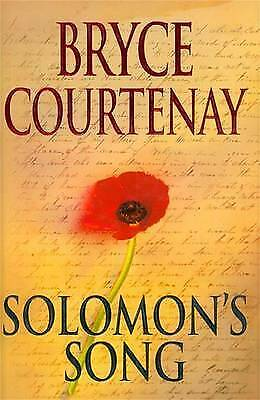 1 of 1 - SOLOMON'S SONG  --  Bryce Courtenay - HB/DJ 1999