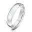 NEW-9ct-White-Gold-Court-Wedding-Ring-2-3-4-5-6mm-Comfort-Fit-Wedding-Band thumbnail 1