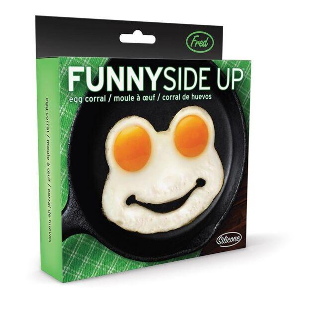 Funny Side Up Frog | EGG MOLD homewares kitsch alternative cooking kitchen gift