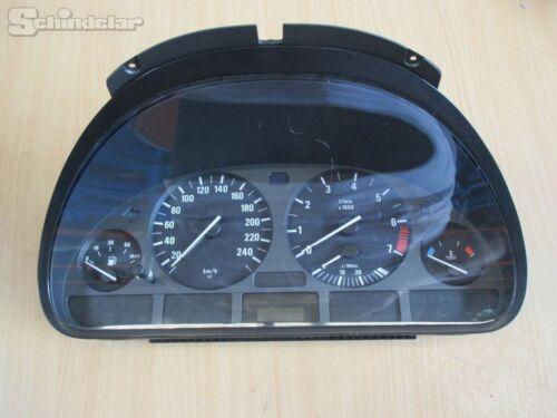 Compteur de vitesse COMBI instrument 62118375900 BMW 5 520i e39