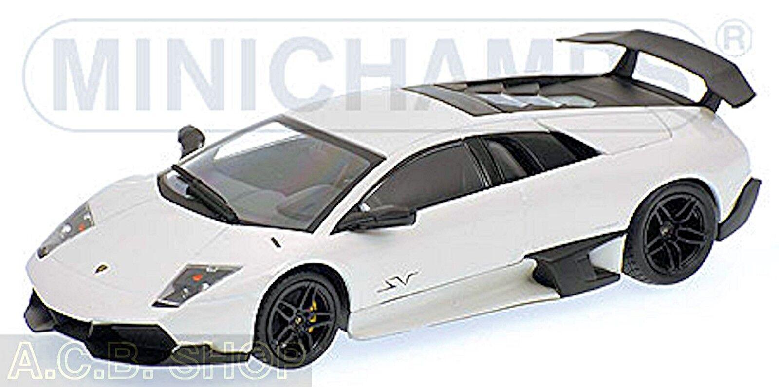 Lamborghini Murcielago LP 670-4 Sv 2009 Bianco Isis Bianco 1 43 Minichamps