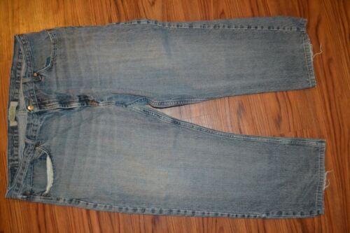 Actual 40x30 Wrangler Droit 40x27 Bleu Denim Hommes Aekc Jeans Pantalon YBg8UvWB