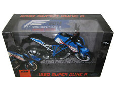 2014 KTM 1290 SUPER DUKE R PATRIOTS EDITION 1/12 MOTORCYCLE BY AUTOMAXX 605102