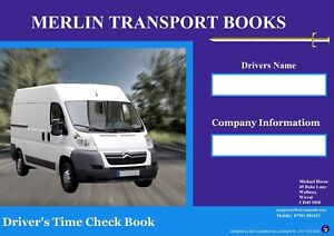 VAN-amp-PICK-UPs-DRIVERS-TIME-CHECK-BOOK-MINISTRY-OF-TRANSPORT-COMPLIANT
