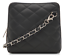 New Ladies Micro Italian Leather Quilted Womens Shoulder Cross body Bag