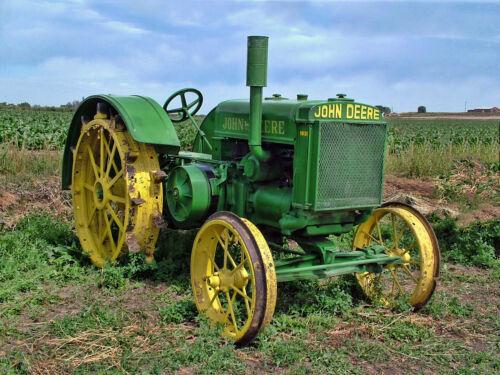 """Rare Vintage John Deere 1930 D30 Farm Tractor Photograph Art Picture 16/'x20/"""""""