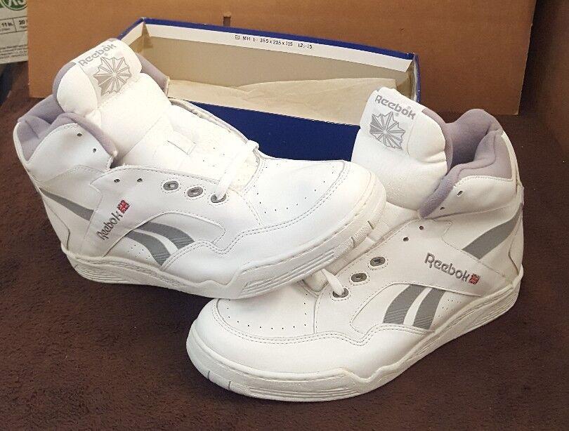 New Old Stock Reebok BB 4600 Ultra Hi 80's OG VTG Men NOS Basketball NIB Size 15