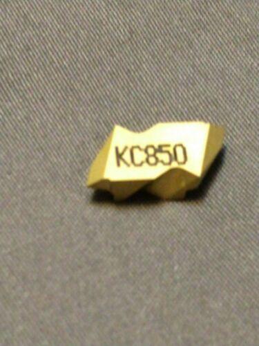 NEW Singles pack NTK2L KC850 Top Notch Threading Inserts Kennametal