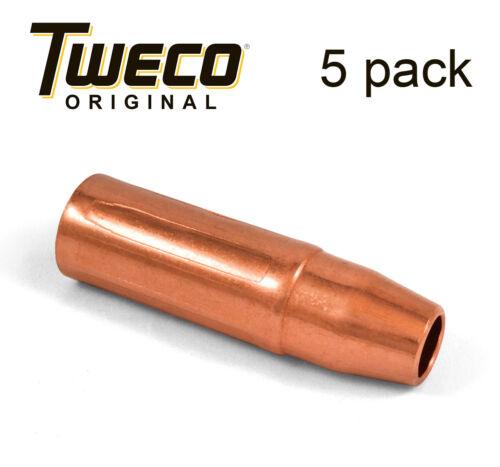"""Genuine Tweco 23-50 Fits Tweco #2 and #4 1//2/"""" Mig Welding Nozzles 5 ea"""