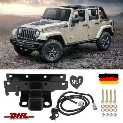 Anhängerzugvorrichtung Gupplung Kit Jeep Wrangler JK Receiver Hitch Deutschland