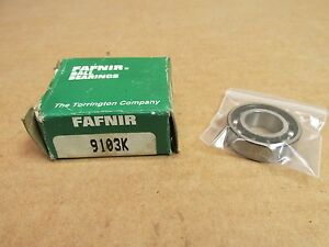 FAFNIR 9103P Single Row Ball Bearing