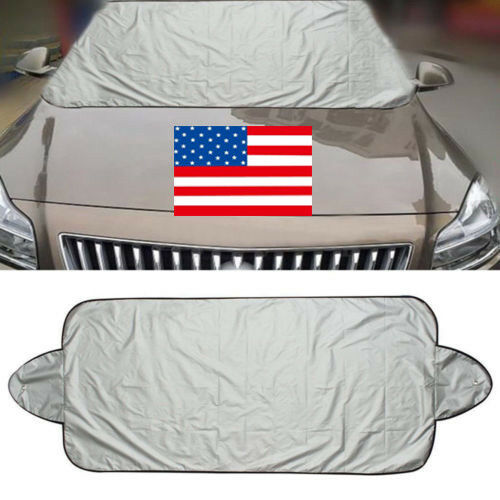 US Car Windshield Cover Front Rear Window Sun Shade Visor Protector 200*70cm NEW