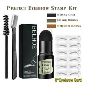 2021 NEW Brow Stamp Shaping Kit Eyebrow Hairline powder Definer AU STOCK