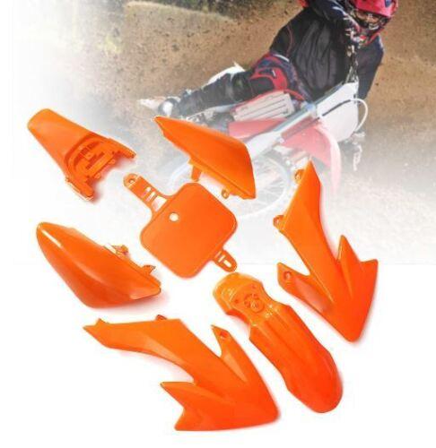 ORANGE PLASTIC FENDER KIT HONDA CRF XR XR50 SDG SSR COOLSTER BIKE H PS31