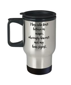 Image Is Loading Hair Stylist Gifts Coffee Travel Mug Hairdresser Birthday