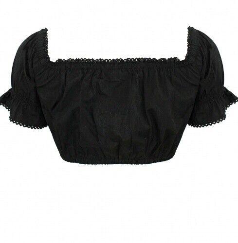 Le costume traditionnel-Country Life-Femmes du chemisier costumes du chemisier noir