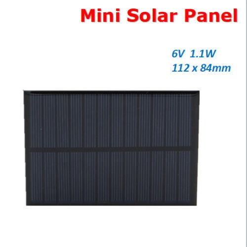 Mini Solar Panel Sonnenkollektor Solarladegerät Solarzelle Handy 5.5//6//9//18V