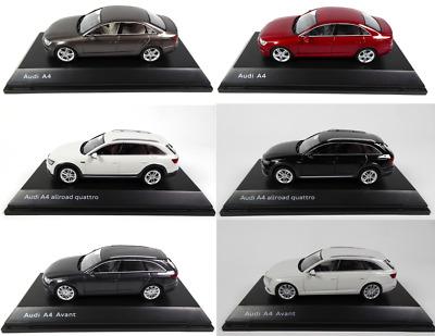 Set of 6 Audi A4 1:43 Spark Miniature Modellauto Sammlung AU10