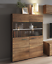 Living-room-furniture-set-glass-cabinet-Tv-unit-stand-display-LED-lights-shelf thumbnail 36