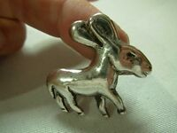 VINTAGE SIGNED BARRERA or CARRERA MEXICO STERLING LITTLE BURRO DONKEY BROOCH PIN