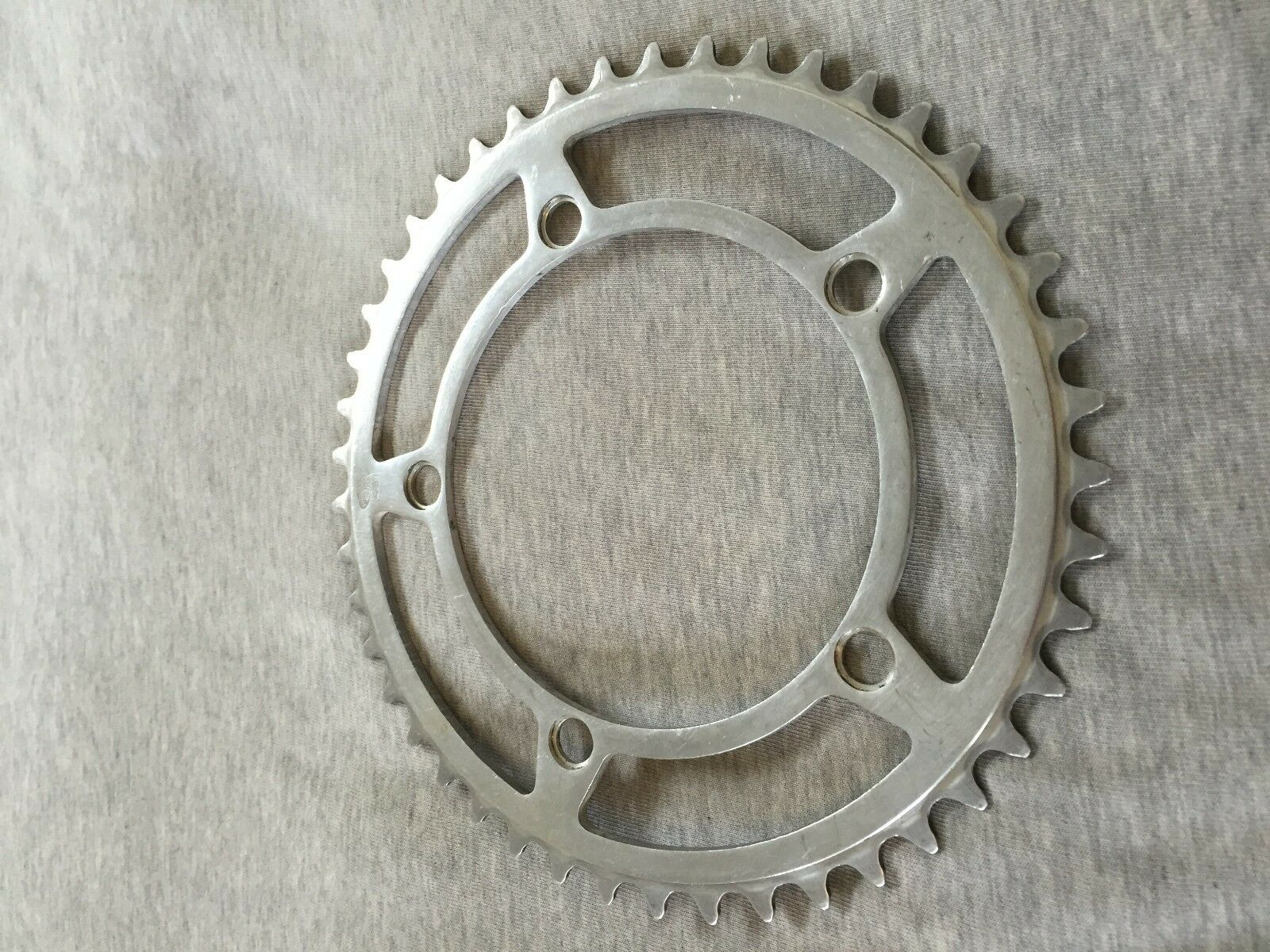 Vintage Stronglight 93 45t chainring 122 BCD 60s era
