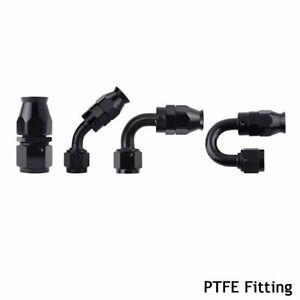 PTFE-Hose-Fitting-Seal-Swivel-Fuel-Line-Adapter-Aluminum-3AN-4AN-6AN-8AN-10AN